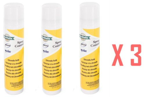 Innotek Anti Bark Dog Spray Collar Citronella Refill