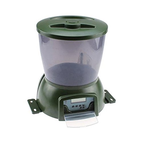 Automatic Pond Fish Feeder Pets Lovers Top Store