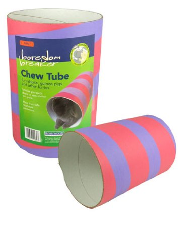 Boredom Breaker Chew Tube Giant For Rabbits Guinea Pigs And Chinchillas Pets Lovers Top Store