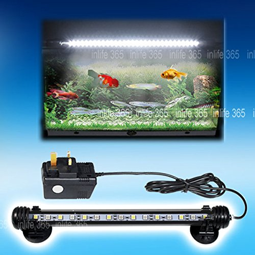 Generic 40cm aquarium fish tank lighting lamp submersible for Fish tank led light bar