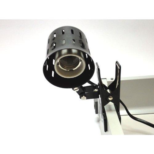 Reptile Tortoise Metal Clip On Ceramic Bulb Heater Holder