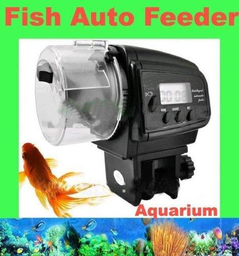 Signstek mini digital automatic aquarium fish tank pond for Automatic fish tank feeder