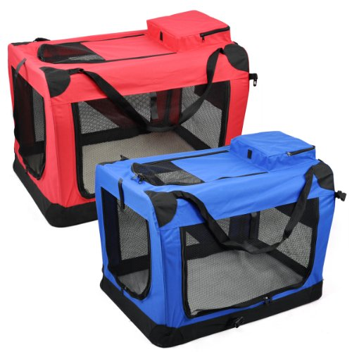 Tinxs Portable Folding Pet Travel Carrier Pet Dog Cat